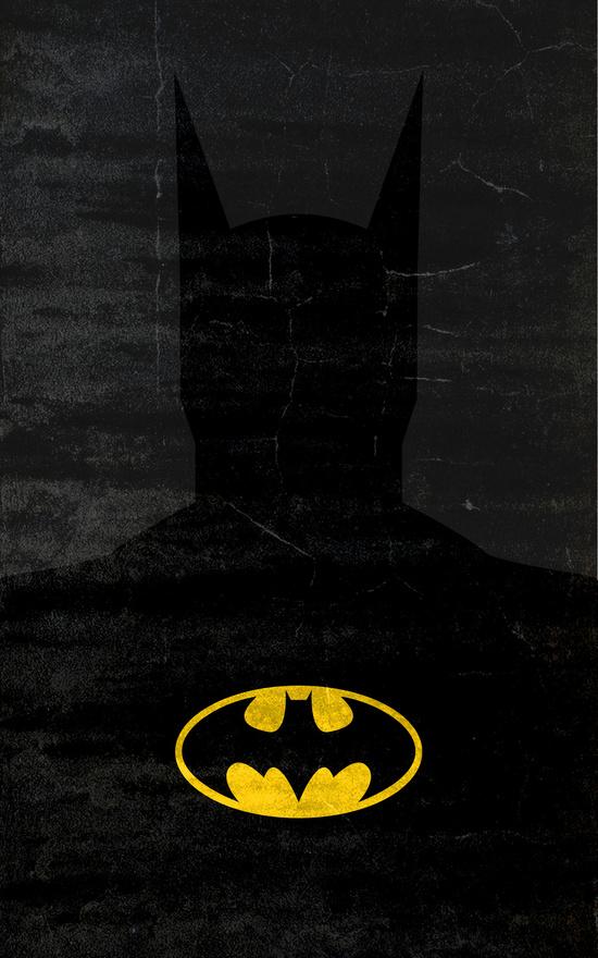Affiches Minimalistes Super Hero Thelincdesign (14)