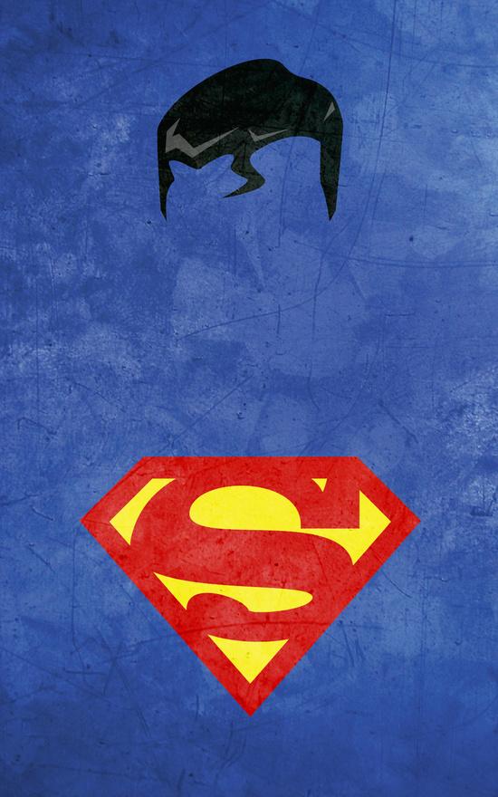 Affiches Minimalistes Super Hero Thelincdesign (15)