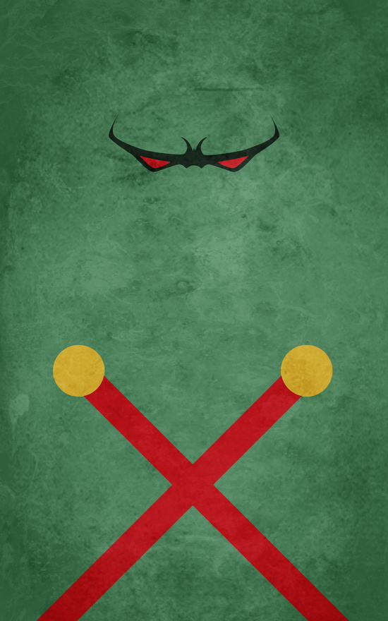 Affiches Minimalistes Super Hero Thelincdesign (21)