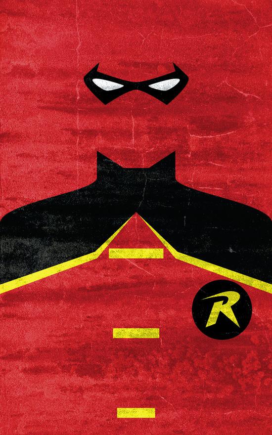 Affiches Minimalistes Super Hero Thelincdesign (3)