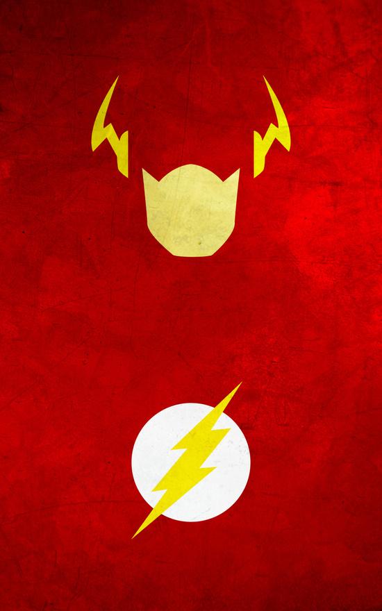 Affiches Minimalistes Super Hero Thelincdesign (4)