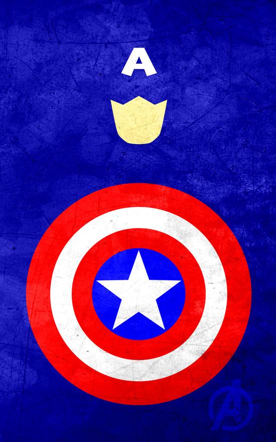 Affiches Minimalistes Super Hero Thelincdesign (8)