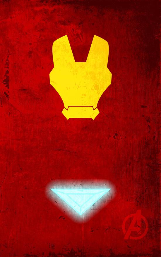Affiches Minimalistes Super Hero Thelincdesign (9)