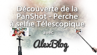 Photo of Découverte de la PanShot – Perche à selfie Télescopique LT-C01