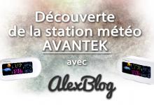 Photo of Découverte de la station météo couleur AVANTEK