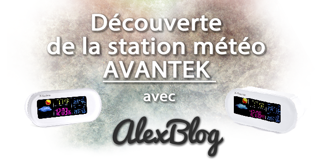Decouverte Station Meteo Avantek