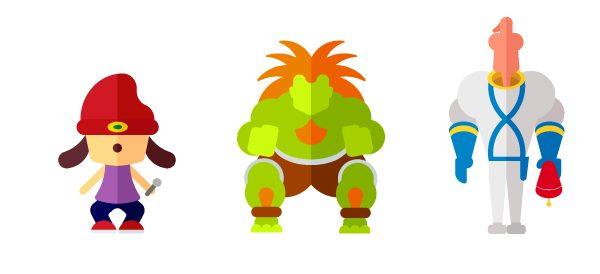 Flat Illustrations Super Heros Mechants Miguel Olivera (4)