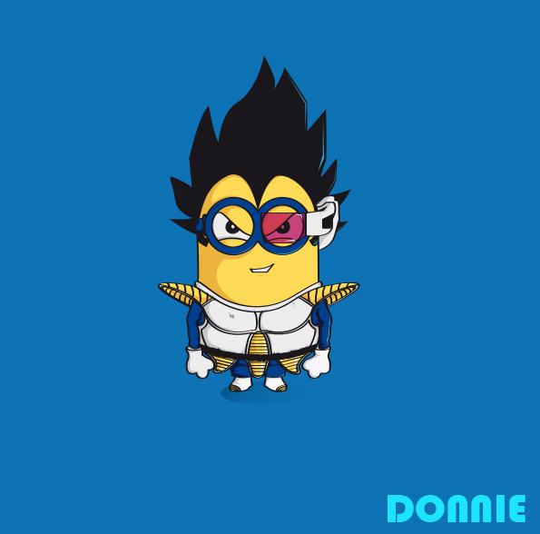Illustrations Minions Marrantes Donnie (1)