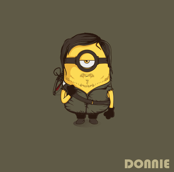 Illustrations Minions Marrantes Donnie (11)