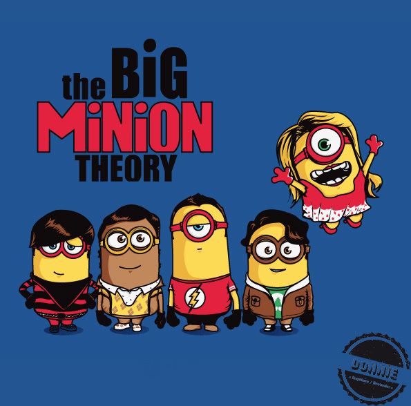 Illustrations Minions Marrantes Donnie (2)