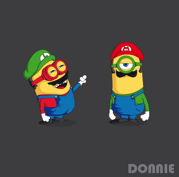 Illustrations Minions Marrantes Donnie (3)