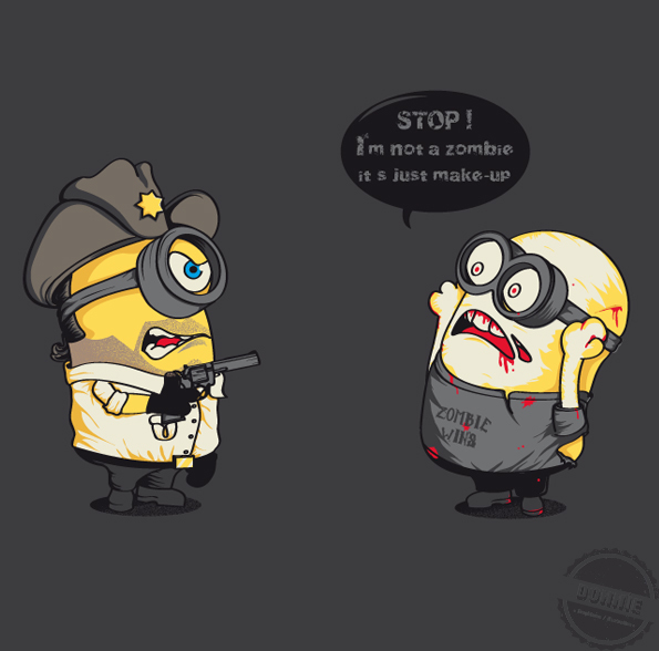 Illustrations Minions Marrantes Donnie (5)