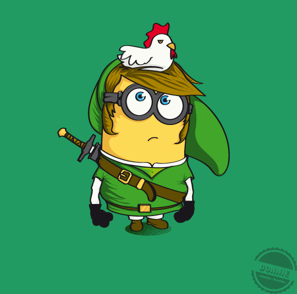 Illustrations Minions Marrantes Donnie (9)