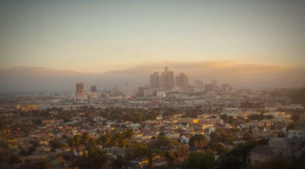 Time Lapse Los Angeles Hyperlapse