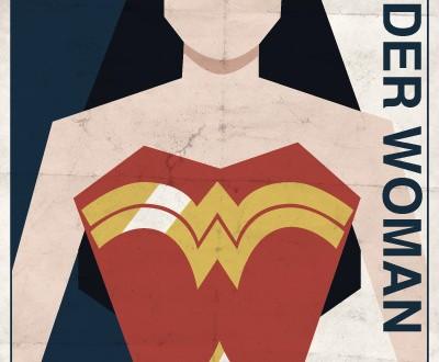 Affiches Minimalistes Vintage Super Heros Michael Myers (1)