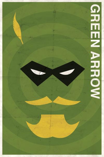 Affiches Minimalistes Vintage Super Heros Michael Myers (2)