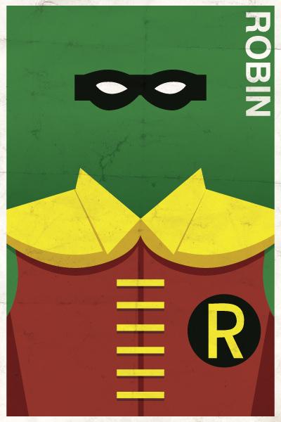 Affiches Minimalistes Vintage Super Heros Michael Myers (4)