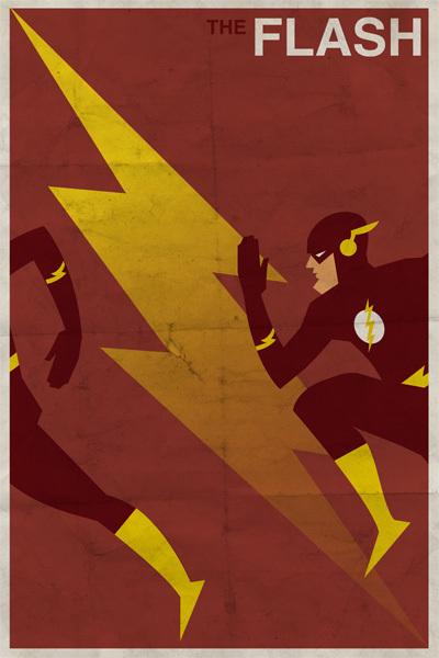Affiches Minimalistes Vintage Super Heros Michael Myers (5)