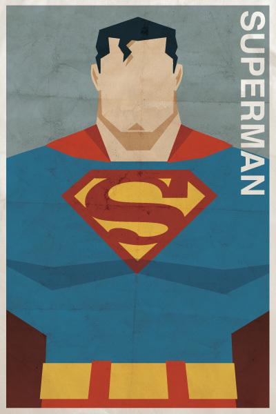 Affiches Minimalistes Vintage Super Heros Michael Myers (6)