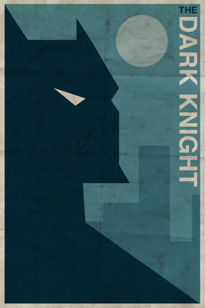 Affiches Minimalistes Vintage Super Heros Michael Myers (8)