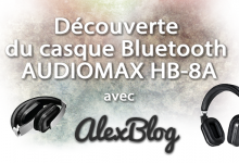 Photo of Découverte du casque Bluetooth AUDIOMAX HB-8A