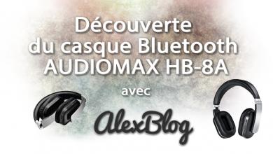 Photo of Découverte du casque Bluetooth AUDIOMAX HB-8A