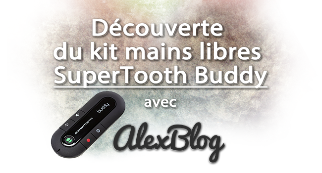 Photo of Découverte du kit mains libres SuperTooth Buddy