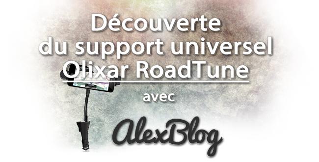 Decouverte Support Universel Olixar Roadtune Mains Libres Transmetteur Fm