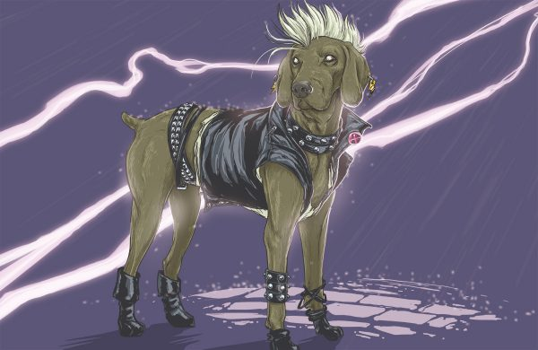 Illustrations Super Heros Marvel Reinvente Chiens Josh Lynch (3)