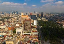 Photo of La ville de Mexico en time lapse