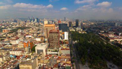 Photo of La ville de Mexico en time lapse