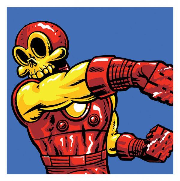 Super Heros Favoris Squelettes Jeremy Madl (5)
