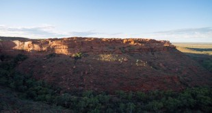 Time Lapse Kings Canyon Australie