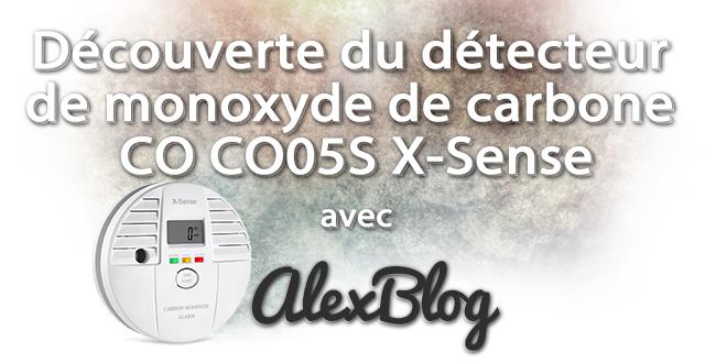 Decouverte Detecteur Monoxyde Carbone Co Co05s X Sense
