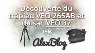 Photo of Découverte du trépied VEO 265AB et du sac VEO 37