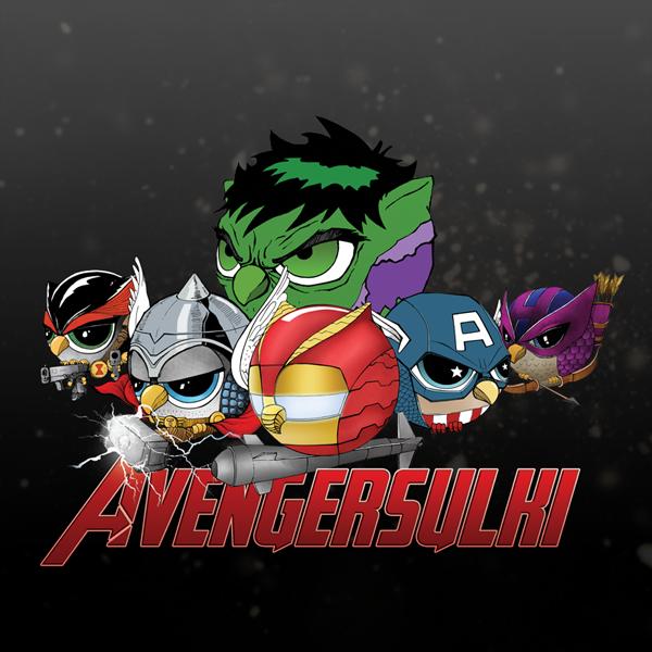 Illustrations Super Heros Hiboux (10)