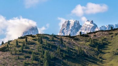 Photo of Les Dolomites dans un time lapse de Michele Colombo