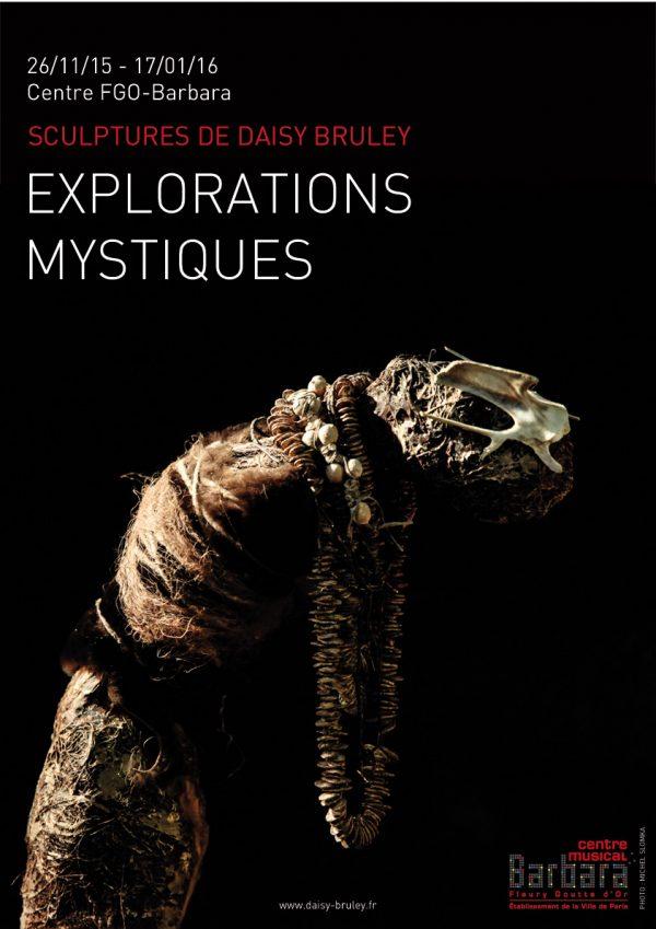 Affiche A3 Explorations Mystiques