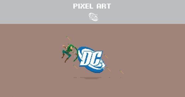 Dc Pixel Art Huggo Sousa