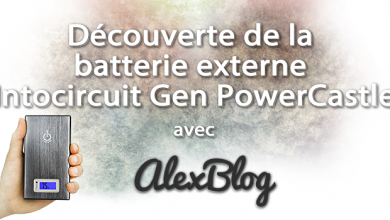 Photo of Découverte de la batterie externe Intocircuit Gen PowerCastle 15000mah