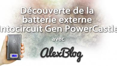 Photo of Découverte de la batterie externe Intocircuit Gen PowerCastle 15000mah