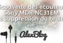 Photo of Découverte des écouteurs Sony MDR-NC31EM à suppression du bruit numérique