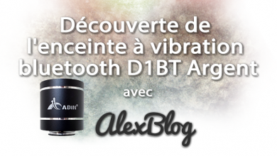 Photo of Découverte de l'enceinte à vibration bluetooth D1BT Argent