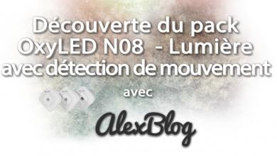 Photo of Découverte du pack OxyLED N08 : Lumière avec détection de mouvement pour escalier