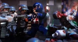 Lego Captain America 3: Nazi Zombies – Un stop motion qui dépote !