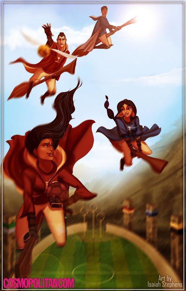 Personnages Disney Poudlard Isaiah Stephens (7)