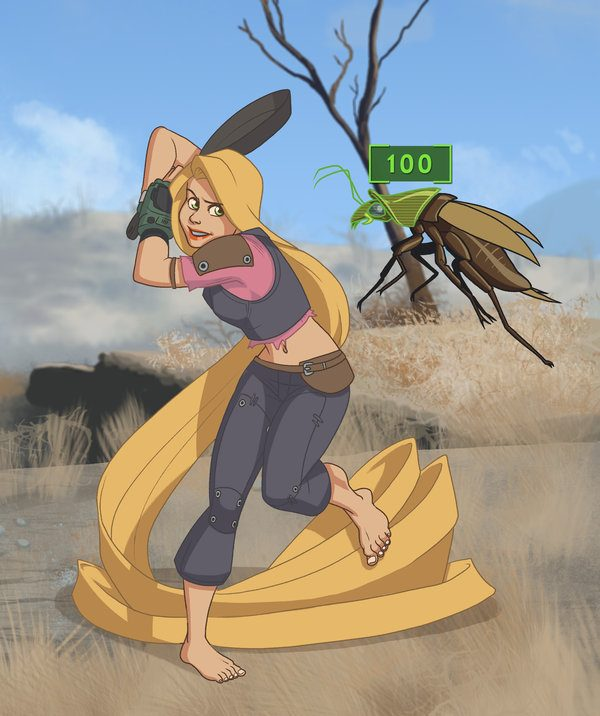 Princesses Disney Jeu Fallout (3)