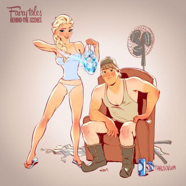 Princesses Disney Pin Up Andrew Tarusov (3)