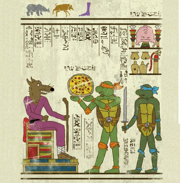 Super Heros Culture Pop Hieroglyphe Josh Lane (2)
