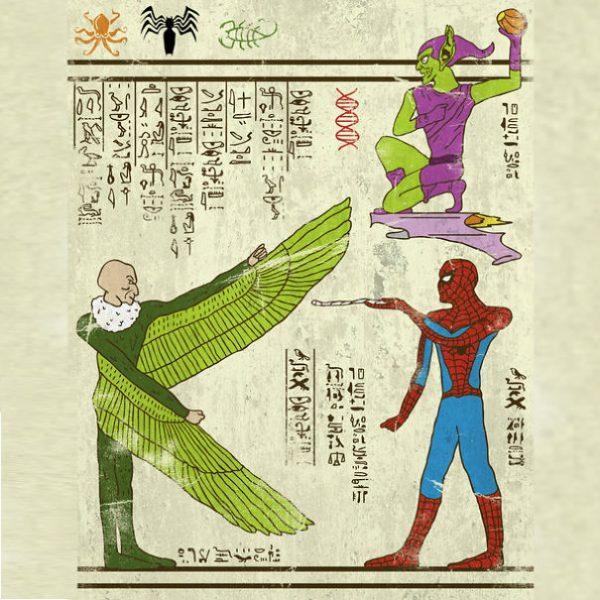 Super Heros Culture Pop Hieroglyphe Josh Lane (4)